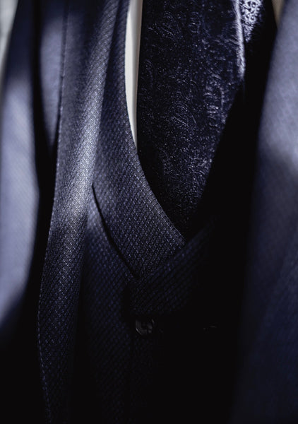 The Gentleman - Three Piece Navy Suit