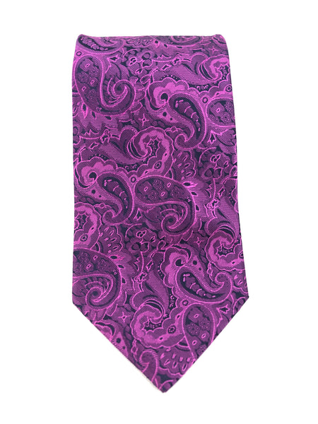 Violet Paisley Knight Tie