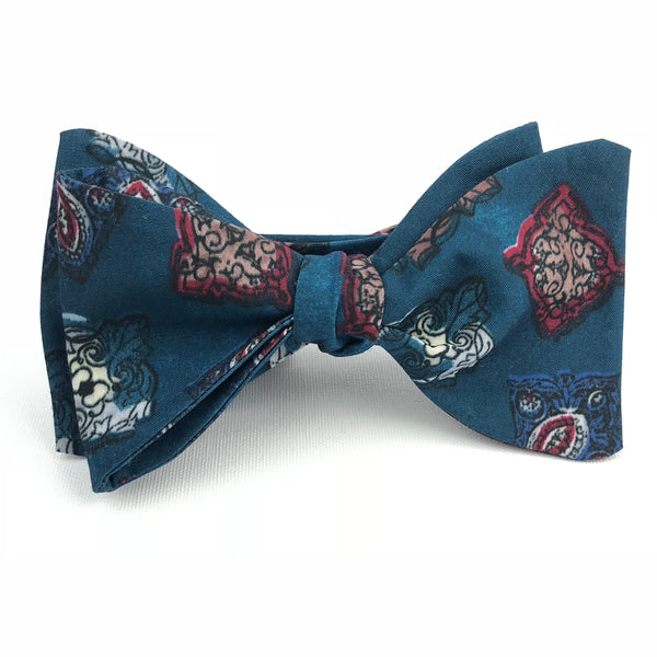 Astral Blue Bow Tie