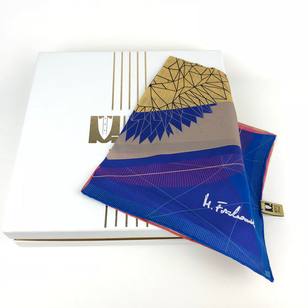 4 Colours Big Satin Silk Pocket Square