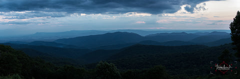 Blue Ridge Sunset Panorama