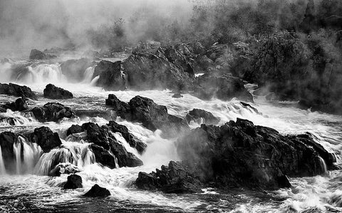 Great Falls Black and White
