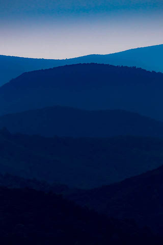 Stacked Blues (Shenandoah Nat'l Park)