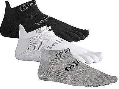 Injinji Original Weight No-Show Performance 2.0 Run Toe Socks XTRALIFE