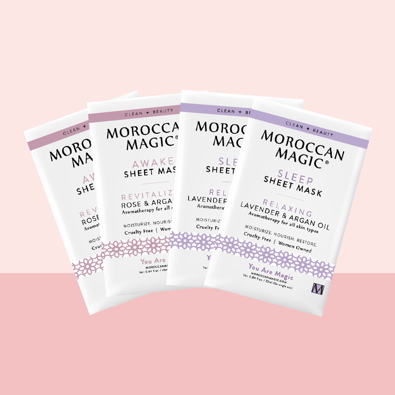 SHEET MASK MULTI-PACK | 2 SLEEP + 2 AWAKE