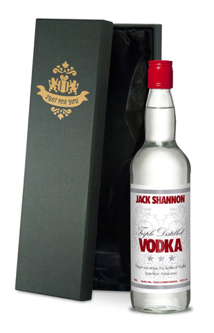 Personalised Bottle of Vodka