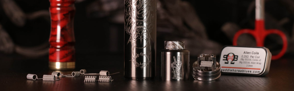 Premium Coils and High End Mods at SaddlehorseBlues