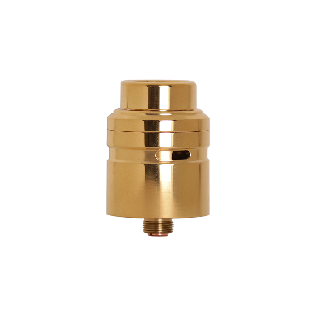 Gold Axial RDA from Mass Mods and Unicorn Vapes