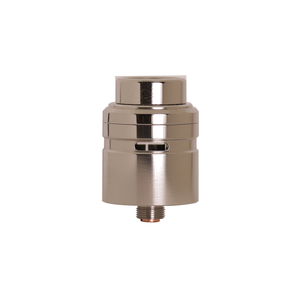 Stainless steel Axial RDA from Mass Mods and Unicorn Vapes