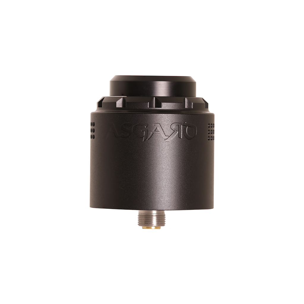 The gunmetal Asgard 30 mm RDA from Vaperz Cloud