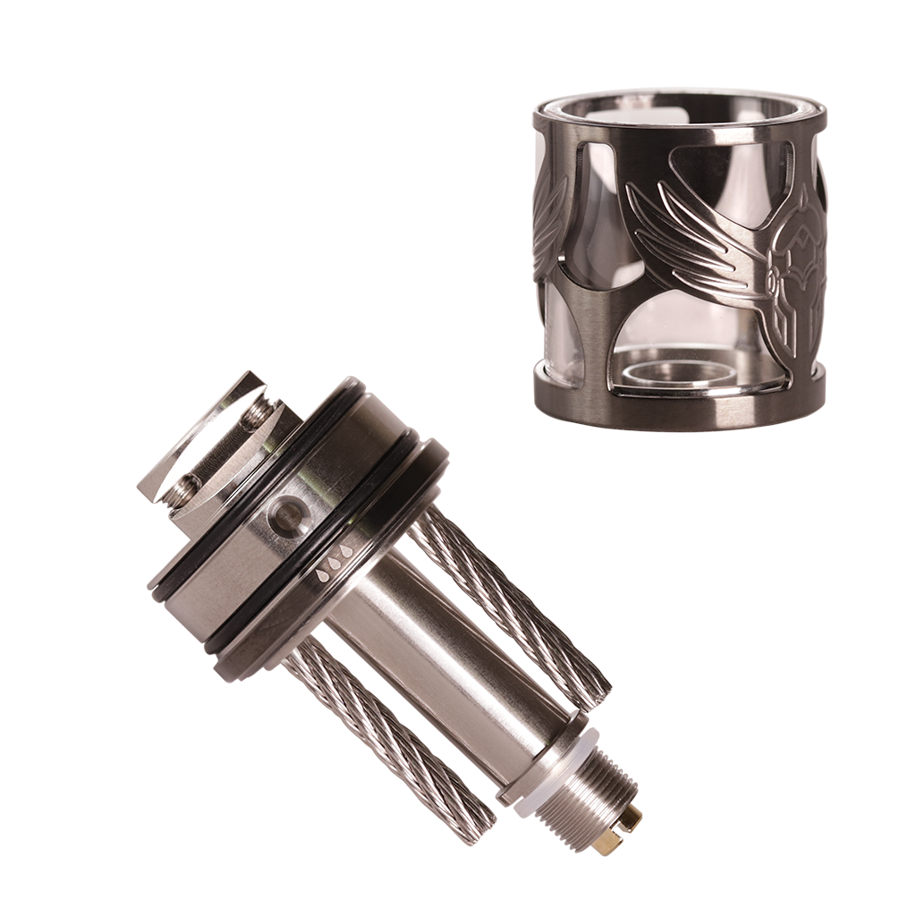 Brunhilde MTL RTA stainless steel wicks