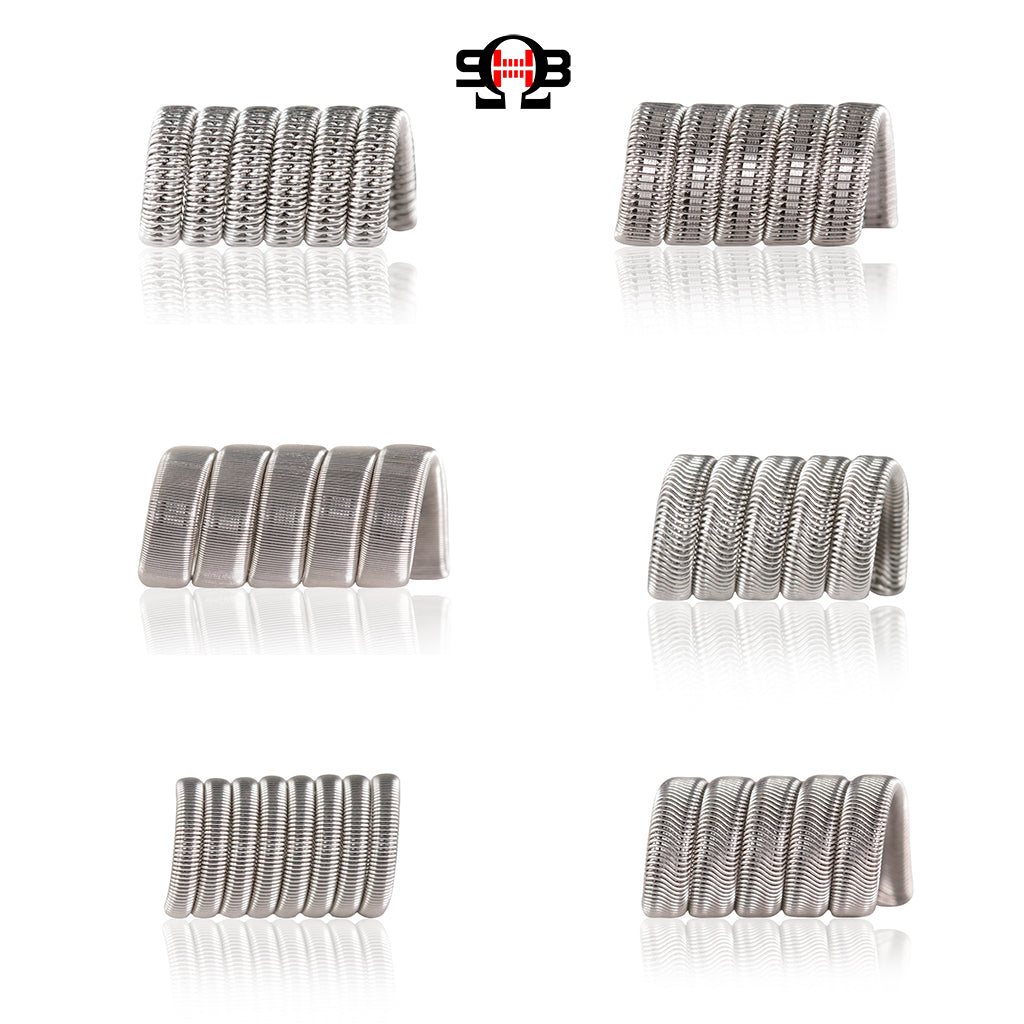 SaddlehorseBlues builder's favourite coils