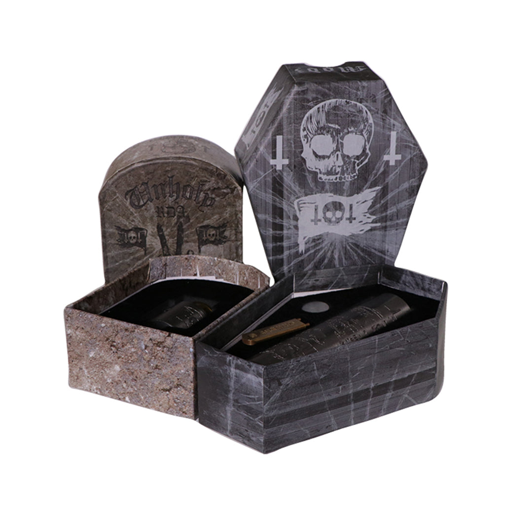 Deathwish Ghostship mech mod and Unholy v2 RDA