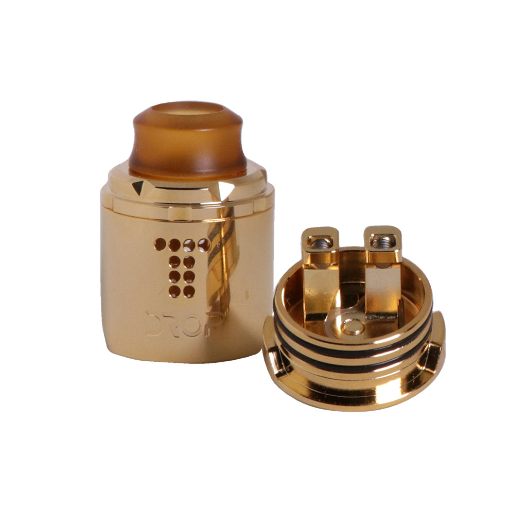 Drop Solo vape RDA build deck