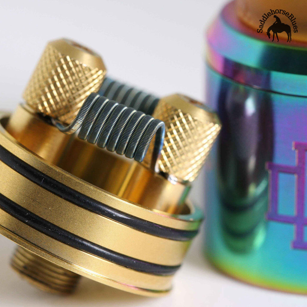 Fused Clapton coils in Druga RDA