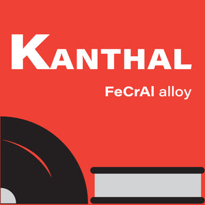 Kanthal round wire available at SaddlehorseBlues, graphic with text