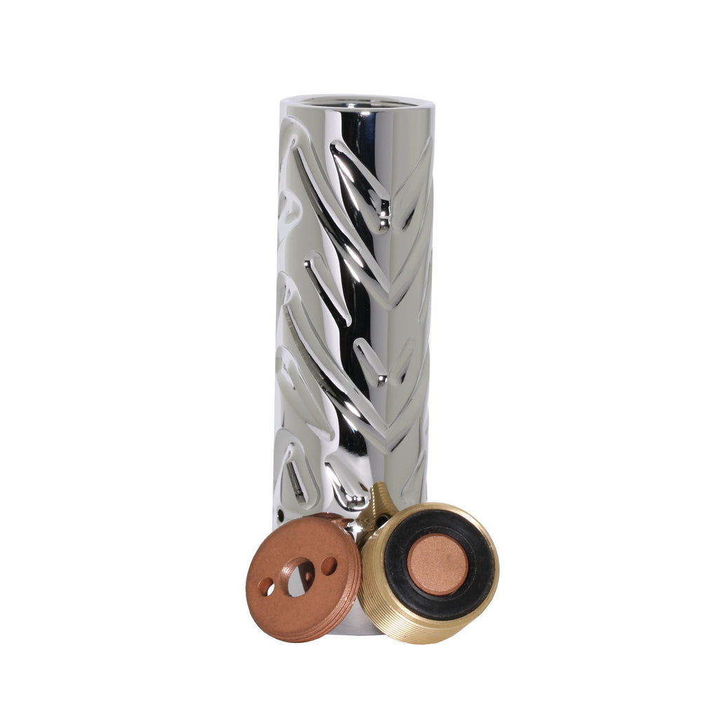 Nickel plated Katana mech mod switch and hybrid connection