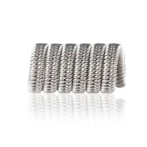 Stainless steel Staggered Fused Clapton