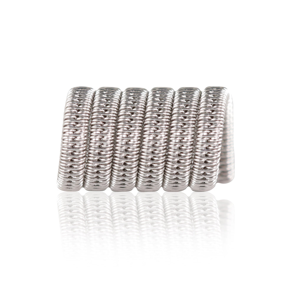 single Staggered Fused Clapton coil