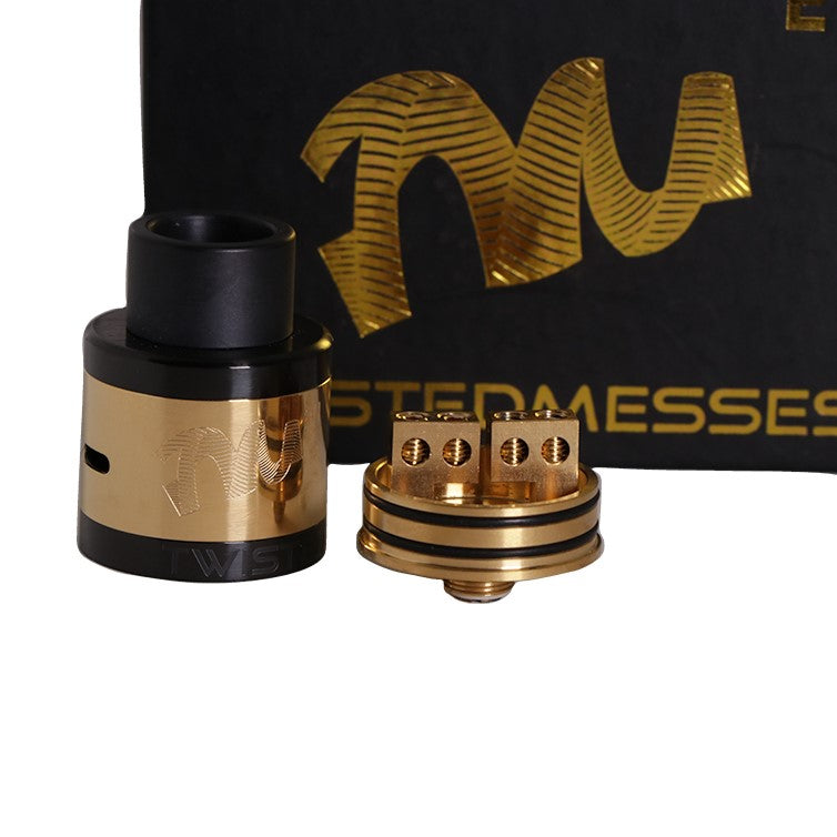 Twisted Messes TM24 vape RDA build deck