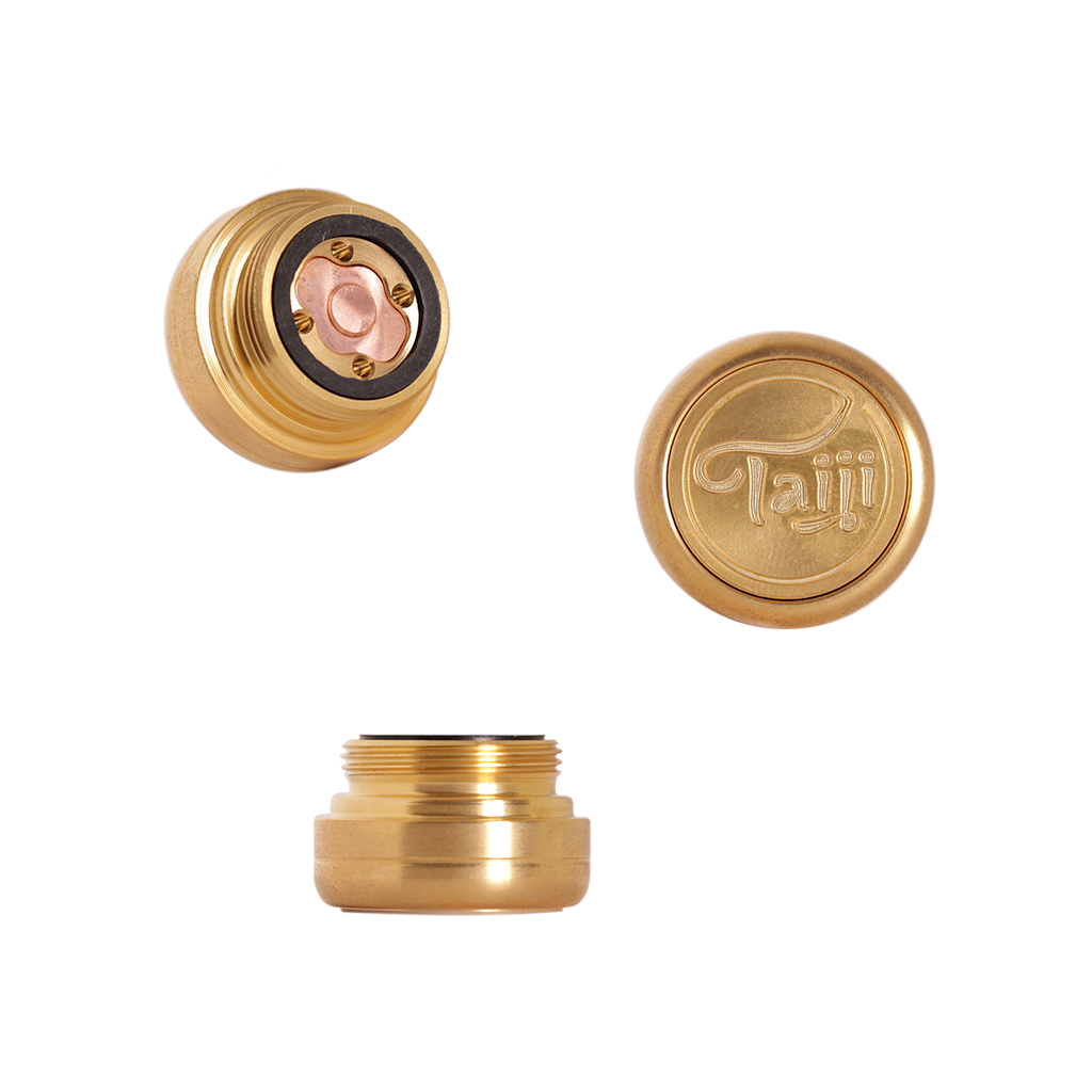 Taiji Brass Hybrid Mechanical Mod switch mechanism
