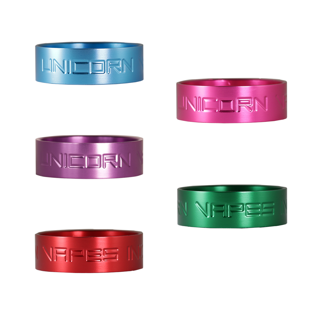 Unicorn Vert Beauty Rings