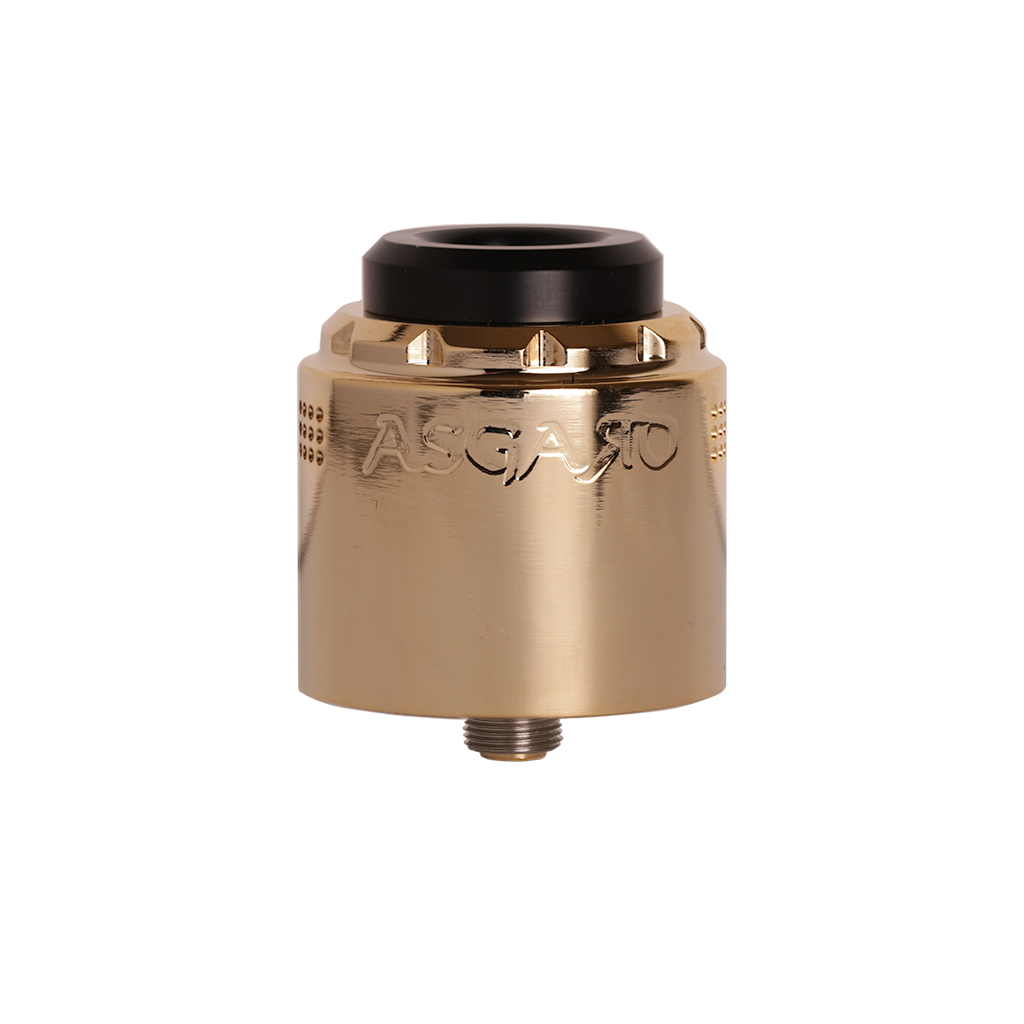 Gold Asgard 30 mm RDA from Vaperz Cloud