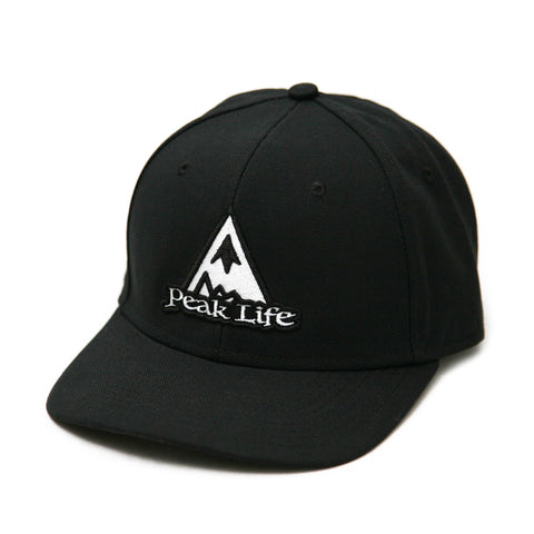 Peak Life Highland hat black flat bill