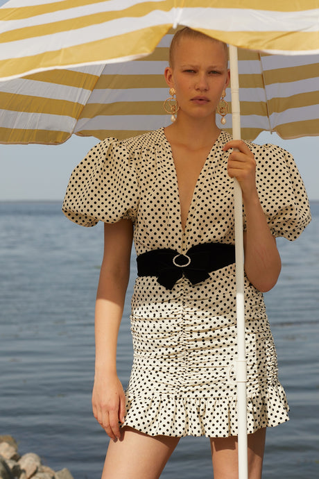 Polka dot Eye candy dress