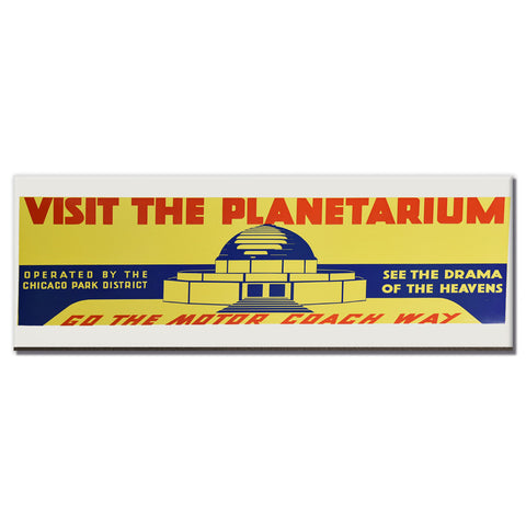 Visit the Planetarium Magnet Chicago Park District