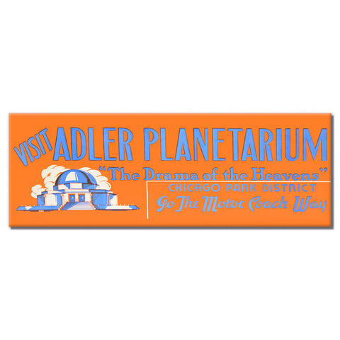 Adler Planetarium Magnet Chicago Park District