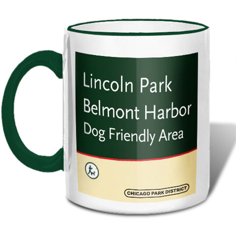 Belmont Harbor Beach Mug