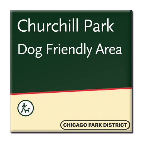 Churchill Park Magnet Chicago Park District