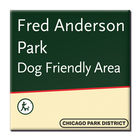 Fred Anderson Park Magnet Chicago Park District