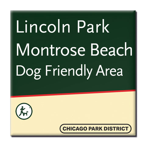 Montrose Beach Magnet Chicago Park District