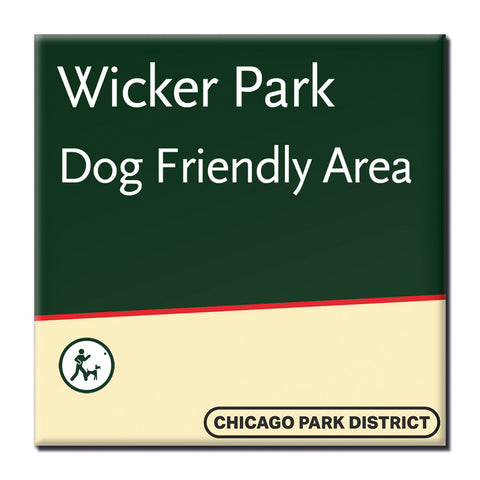 Wicker Park Magnet Chicago Park District