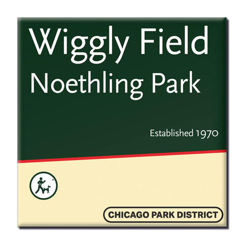 Wiggly Field at Noethling Park Magnet Chicago Park District