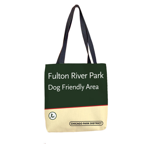 Fulton River Park Tote Bag Chicago Park District
