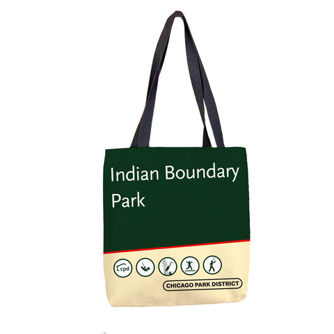 Indian Boundary Park Tote Bag Chicago Park District
