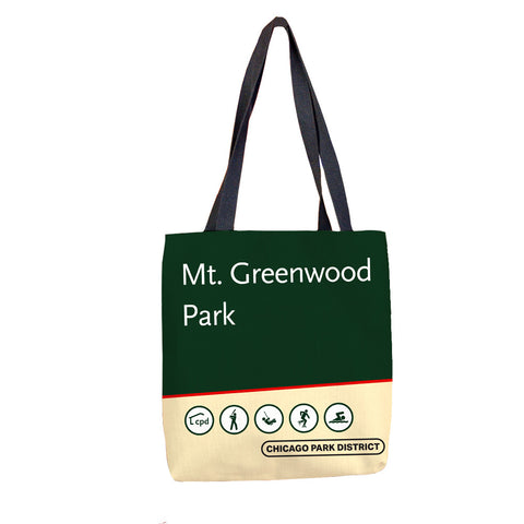 Mount Greenwood Park Tote Bag Chicago Park District