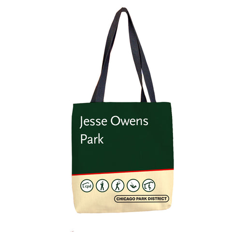 Owens (Jesse) Park Tote Bag Chicago Park District