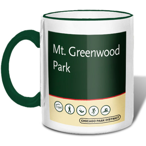 Mount Greenwood Park Mug