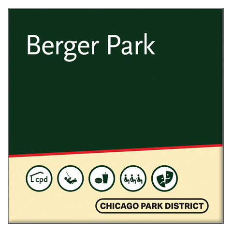 Berger (Albert) Park Square Magnet Chicago Park District