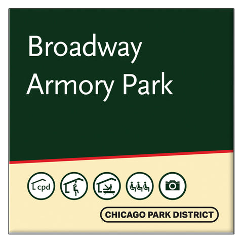 Broadway Armory Park Square Magnet Chicago Park District