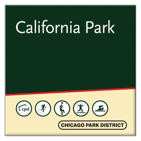 California Park Square Magnet Chicago Park District
