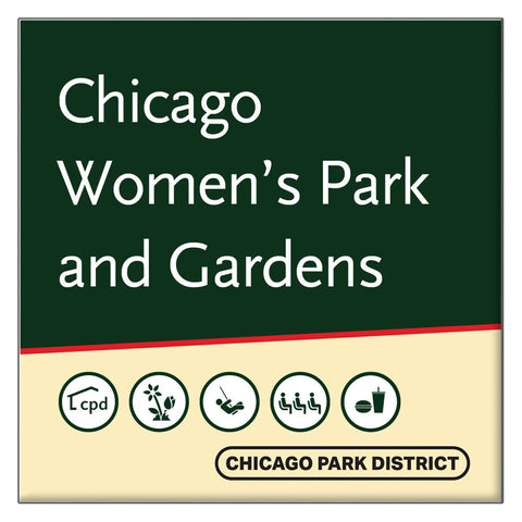 Chicago Women's Park And Gardens Park Square Magnet Chicago Park District