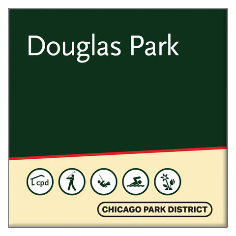 Douglas (Stephen) Park Square Magnet Chicago Park District