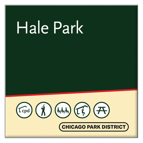 Hale (Nathan) Park Square Magnet Chicago Park District