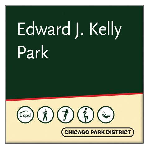 Kelly (Edward) Park Square Magnet Chicago Park District
