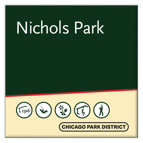 Nichols (John Fountain) Park Square Magnet Chicago Park District
